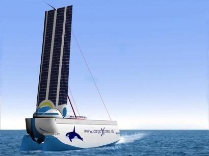 Acciona anuncia un buque de carga que consume la mitad de combustible