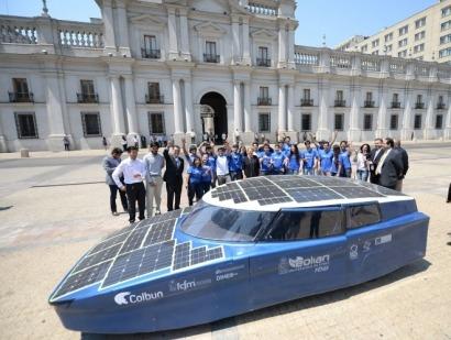 Comienzan las pruebas del coche solar Eolian Fénix 5