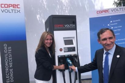 CHILE: Inauguran una red de electrolineras entre Santiago y las regiones de Biobío y Valparaíso