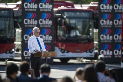 CHILE: Presentan los primeros 100 buses eléctricos para la Región Metropolitana