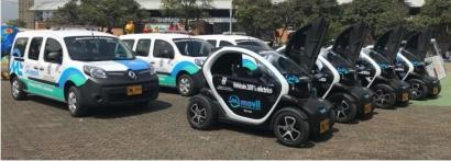 COLOMBIA: Medellín: Vehículos eléctricos para cuidar las calles