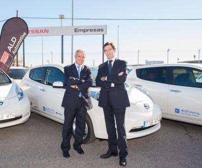ALD Automotive incorpora 23 vehículos eléctricos a su oferta de Car Sharing