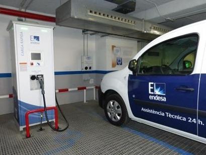 Uno de cada tres vehículos de la flota de corto recorrido de Endesa ya es eléctrico