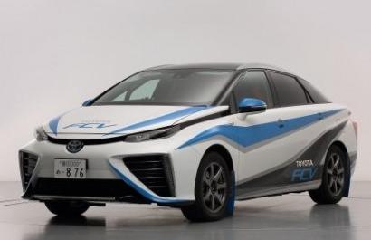 El Toyota FCV de pila de combustible debuta en competición