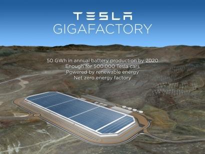 """La nueva """"gigafactoría"""" de Tesla funcionará solo con renovables"""