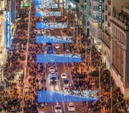 El Ayuntamiento de Madrid pide a los ciudadanos que usen el transporte público