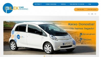 Los donostiarras ya pueden alquilar vehículos eléctricos
