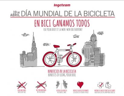 Ingeteam celebra a lo grandeel Día Mundial de la Bicicleta