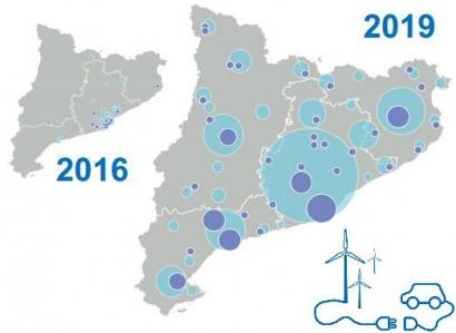 Cataluña quiere instalar 21.000 electrolineras en los próximos 40 meses