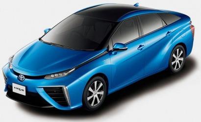 Toyota anuncia el lanzamiento de Mirai, su sedán de pila de combustible