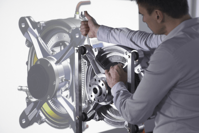 Siemens desarrolla un motor eléctrico para aviones cinco veces más potente que los actuales