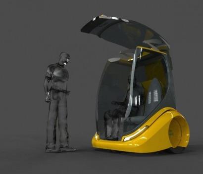 Una empresa sevillana ultima su prototipo de taxi eléctrico no tripulado