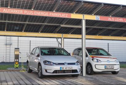 La ciudad alemana de Dresde estrena parking autosuficiente con opción de carga eléctrica
