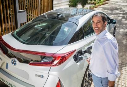Cubierta Solar necesitaba un coche fotovoltaico como este