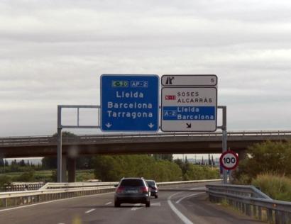 Renovables en las autopistas