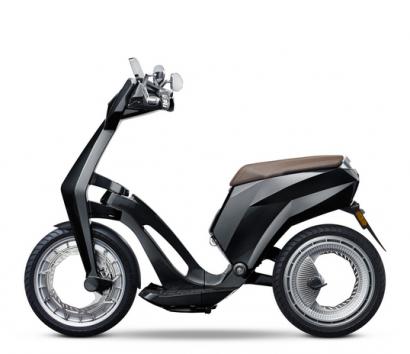 Presentan un nuevo scooter eléctrico ultraligero y fácilmente recargable