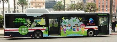 Montevideo: Ya circula el primer autobús eléctrico