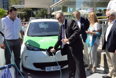 URUGUAY: Inauguran el primer punto de recarga de la Ruta Eléctrica