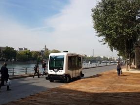 Alstom invierte en una start-up que desarrolla microbuses eléctricos y autónomos
