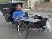 """Un francés quiere recorrer el país en una bici """"renovable"""""""
