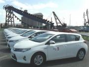 La Autoridad Portuaria de Bilbao adquiere una flota de coches híbridos