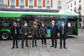 Ayuso, el autobús de hidrógeno y la mala memoria