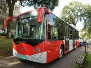 Campinas: Diez buses eléctricos para la flota de transporte público