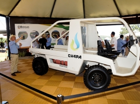 Nace el CH4PA, vehículo utilitario de carga movido a biometano