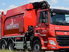 Gotemburgo probará un segundo camión de basura impulsado por pila de combustible
