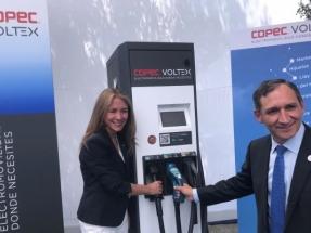Inauguran una red de electrolineras entre Santiago y las regiones de Biobío y Valparaíso