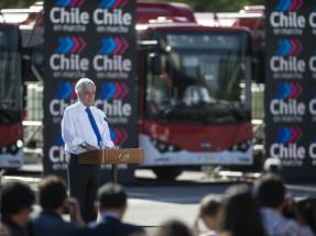 Presentan los primeros 100 buses eléctricos para la Región Metropolitana