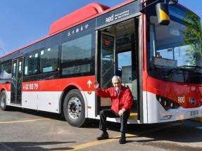 Santiago: Inauguran la primera terminal de América Latina exclusiva para buses eléctricos