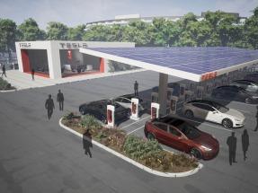 Tesla extiende su red de puntos de recarga y algunos de ellos se alimentarán con fotovoltaica