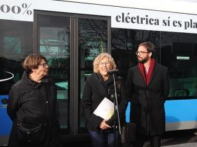 EMT estrena su primera línea 100% eléctrica con carga por inducción