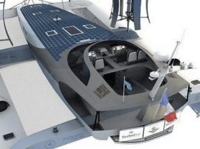 Un catamarán circunnavegará el mundo impulsado solo con hidrógeno y renovables
