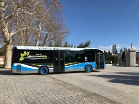 Madrid pone en la calle sus primeros autobuses 100% eléctricos