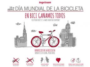 Mañana es el Día Mundial de la Bicicleta, y en Ingeteam lo celebran a lo grande