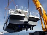 Santander quiere tener la primera línea regular de transporte público marítimo... solar