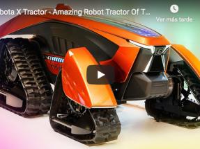 Presentan en Japón un tractor solar totalmente autónomo