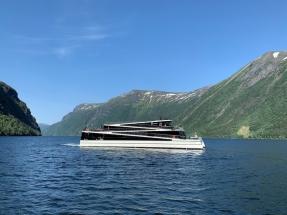 La naviera The Fjords suma un tercer buque eléctrico a su flota