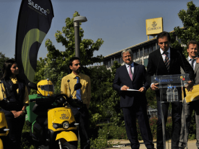 200 motos eléctricas para los carteros