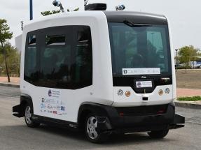 Dentro de poco se podrá recorrer el PN de Timanfaya en un microbús eléctrico autónomo