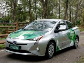 Toyota presenta el primer vehículo híbrido eléctrico-etanol