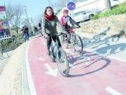 Dos ciudades Patrimonio de la Humanidad, unidas por un carril bici