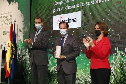 Galardón a Acciona por el programa que lleva energía, agua y saneamiento a comunidades rurales de Oaxaca, en México