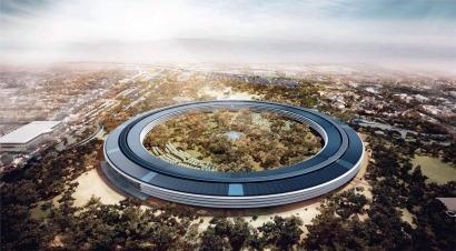 Solo renovables para el nuevo cuartel general de Apple
