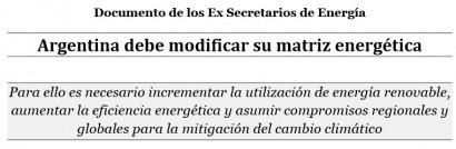 Ex secretarios de Energía piden incrementar el uso de renovables