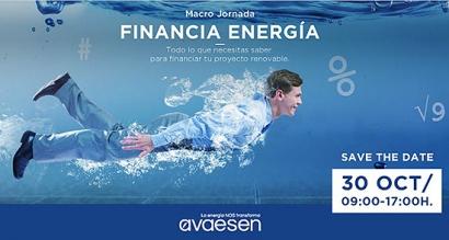 Todo lo que necesitas saber para financiar tu proyecto renovable, en una jornada organizada por Avaesen