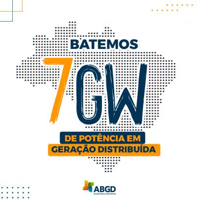 En tres meses, la generación distribuida pasa de 6 GW a 7 GW de potencia instalada
