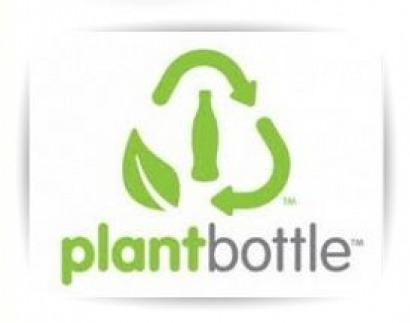Una botella de gaseosa hecha de bioplástico